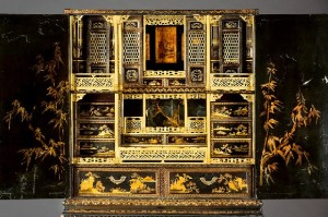 18th C chinese imported cabinet